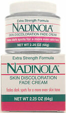 NADINOLA SKIN DISCOLORATION FADE CREAM EXTRA STRENGTH FORMULA 2.25 OZ.