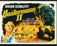 QUATERMASS 2 1957 personally signed autograph10x8 VERA DAY