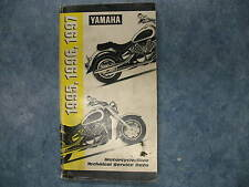 1995 1996 1997 USED YAMAHA MOTORCYCLE RIVA TECHNICAL SERVICE DATA GUIDE BOOK