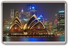 FRIDGE MAGNET - SYDNEY OPERA HOUSE - Large Jumbo - Australia Night