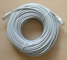 Red Ethernet CAT5e UTP Patch Cable de plomo parche 10 metros RJ45 Cat 5e Gris