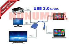 New USB 3.0 to VGA Video Graphic Card Display External Cable Converter  Adapter