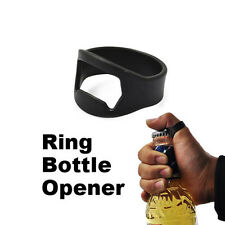 Hot Sale Stainless Steel Opening Finger Ring Bottle Opener Beer Bar Tool