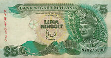 RM5 Jaafar Hussein sign Note NY 8276336