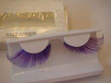 Purple Super  Long False Eyelashes (G-15)