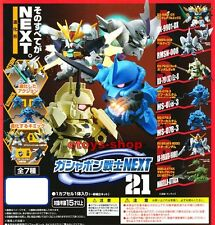 SD GUNDAM NEXT Part 21 Gashapon Full Set BANDAI Zaku Gouf