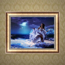5D DIY Diamond Painting Beauty Girl Embroidery Cross Stitch Craft Home Decor