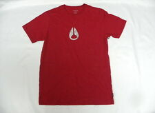 Nixon Men Mason Red Short Sleeve Medium T-Shirts