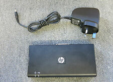 HP HSTNN-S02X 589100-001 589144-001 USB Docking Station - With AC Adapter