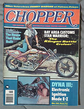 CHOPPER CUSTOM MOTORCYCLE PARTS GUIDE MAGAZINE 1978 WINTER HARLEY TRIUMPH HONDA