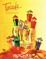 PUBLICITE ADVERTISING  1996   ROCHAS   parfums TOCADE
