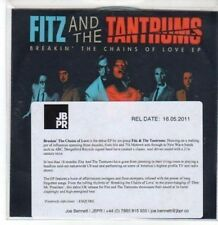 (BY433) Fitz & The Tantrums, Breakin' The Chains of Love EP - 2011 DJ CD