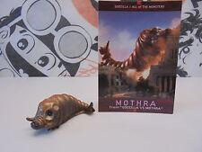 SD GODZILLA MOTHRA Larva With card 28-5-23 TOHO Kaiju Figure Japan