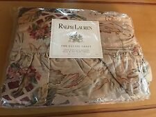 Ralph Lauren Guinevere Estate King Flat Sheet