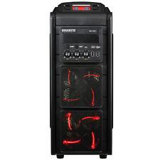 GIGABYTE GZ-G3 Plus ATX Gaming Case BLACK 2xUSB 3.0&2xUSB 2.0 HD Audio NO PSU
