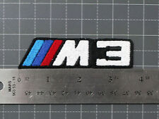 BMW M3 LOGO BADGE (M-POWER) CAR MOTORCYCLE BIKER RACING PATCH - MADE IN USA