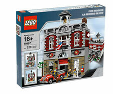 LEGO Fire Brigade Station 10197 New Factory Sealed Engine Modular House Dog NEW