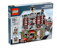 LEGO Creator Fire Brigade (10197) - Brand new in sealed box, retired set