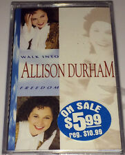 sealed ALLISON DURHAM....WALK INTO FREEDOM Gospel Cassette
