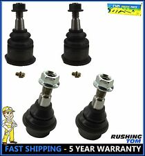 4 Pc Kit Ball Joints 2 Upper 2 Lower For Cadilac GMC Chevy Sierra 1500 Tahoe 4WD
