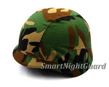 Tactical Military Outdoor Helmet Cover for M88 PASGT Kelver Swat Helmet Woodland