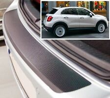 Fiat 500 X - Carbon Style rear Bumper Protector
