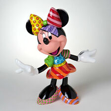 ROMERO BRITTO DISNEY MINNIE MOUSE FIGURINE  -- 8 IN TALL  --NEW --