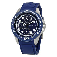 Nautica NSR 200  Multi-Function Blue Dial Mens Watch A13686G