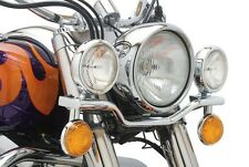 96-03 Honda Shadow ACE VT750C Cobra Chrome Lightbar with Spotlights  04-0115A