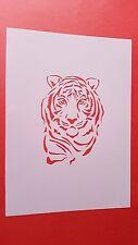 Schablonen 46 Tiger Vintage-Look Stanzschablone Shabby Möbel Wandtattoos Hunde