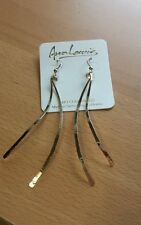 Dangle ribbon14 K Gold Fill earrings by Ann Lewis usa teardrop
