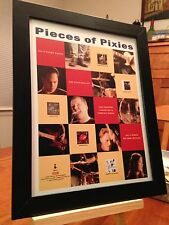 "FRAMED PIXIES ""DOOLITTLE"" ""BOSSANOVA"" ""SURFER ROSA"" LP ALBUM CD PROMO AD"