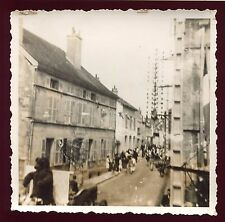 photo ancienne  . Recey sur ource . cavalcade . carnaval