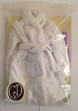 "CED/ JDJ INT. 16"" FASHION DOLL WHITE SPA ROBE . Nice"
