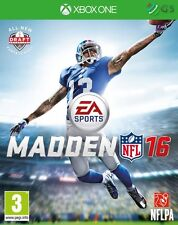 Madden NFL 16 Xbox One * NEW SEALED PAL *