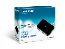 TP-LINK TL-SG1005D 5-Port Gigabit Ethernet Desktop Switch 10/100/1000Mbps