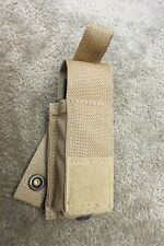 (2) EAGLE INDUSTRIES SINGLE 9MM MAGAZINE MAG POUCH MOLLE MARSOC USMC MLCS SFLCS