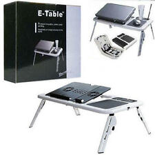 ETable Portable LAPTOP TABLE Laptop Stand E Table With USB Fan NOTE BOOK table!!