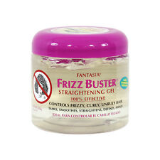 Fantasia Frizz Buster Straightening Gel Tames Smoothes Control Frizzy Hair 16oz
