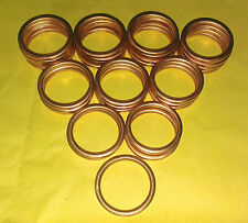 EXHAUST MANIFOLD GASKET RINGS CG125 ALL YEARS CLR125 CD125 CM125 CT125 SL125 C0