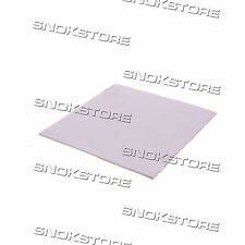 1x PAD TERMICO 100x100x0.5mm  HEATSINK CONDUCTIVE thermal SILICONE CPU GPU