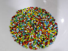50g 2mm 11/0 Glass Seed Beads - ASSORTED COLORS MIXED Opaque Mixed MIX 2