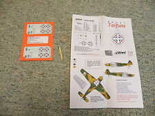 Lift Here  decals 1/48 Royal Taifuns A75