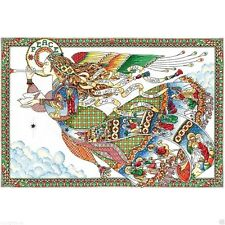 """Design Works Counted Cross Stitch Kit 16"""" x 24"""" ~ PEACE ANGEL #5993 Sale"""