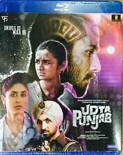 UDTA PUNJAB BLURAY - 2016 BOLLYWOOD MOVIE BLURAY / SHAHID KAPOOR KAREENA KAPOOR