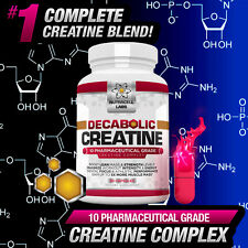 DECABOLIC CREATINE COMPLEX - STRONGEST LEGAL ANABOLIC PILLS / TABLETS / CAPSULES