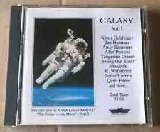 DOLDINGER / JAN HAMMER / ALAN PARSONS / TANGERINE DREAM .. Galaxy vol 1 CD