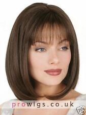 100% Real Hair Beautiful Sexy Short Brown Straight Wig For Men Human Hair New