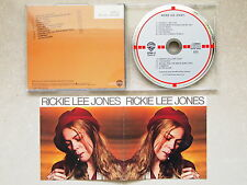 RICKIE LEE JONES - S/T RICKIE LEE JONES (TARGET) WEST GERMANY CD