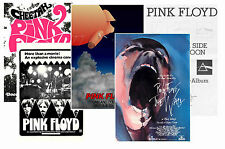 PINK FLOYD - SET OF 5 - A4 POSTER PRINTS # 1